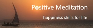 Positive Meditation Logo Happiness Skills